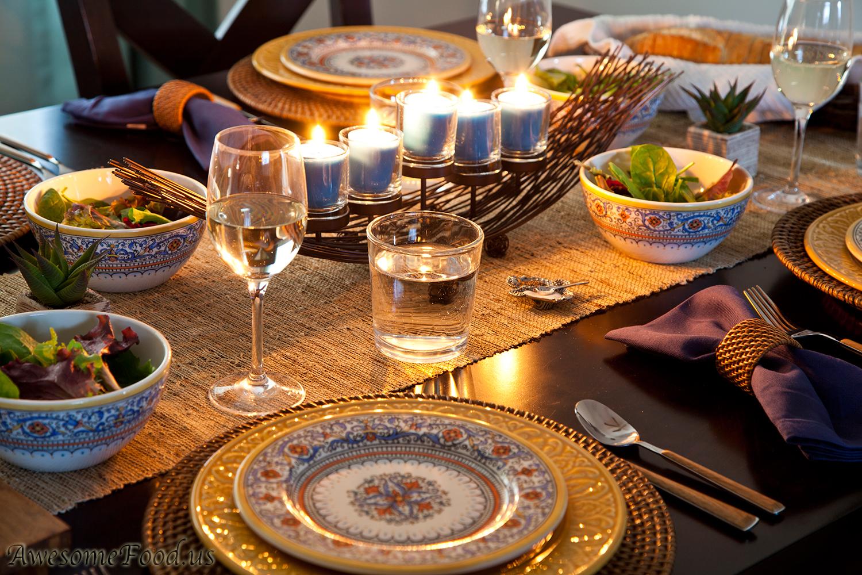 Dinner Party Settings