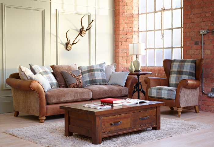 Alexander James Sofa and Chair