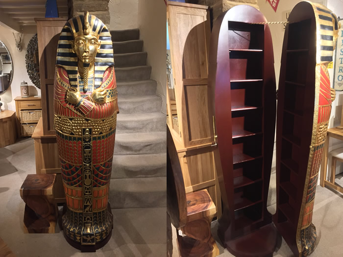 Add A Bit Of Egypt To Your Home With This Beautifully Detailed Cabinet
