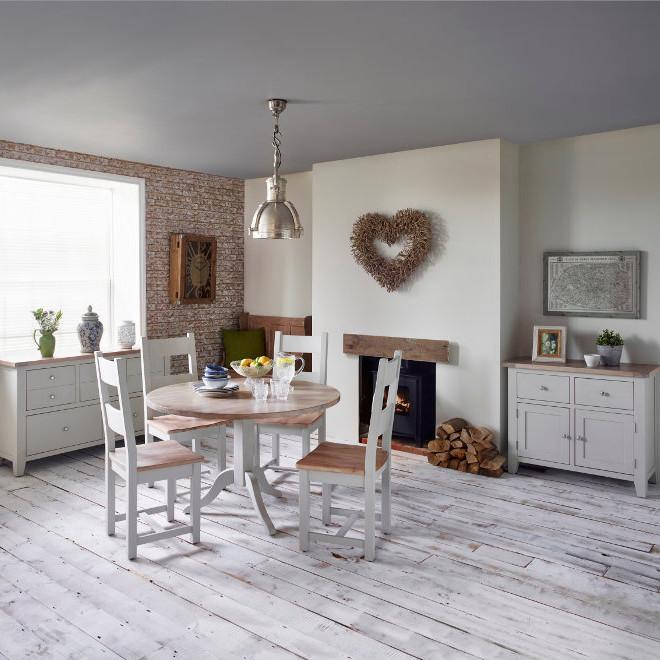 New Hampshire Chalked Oak & Light Grey