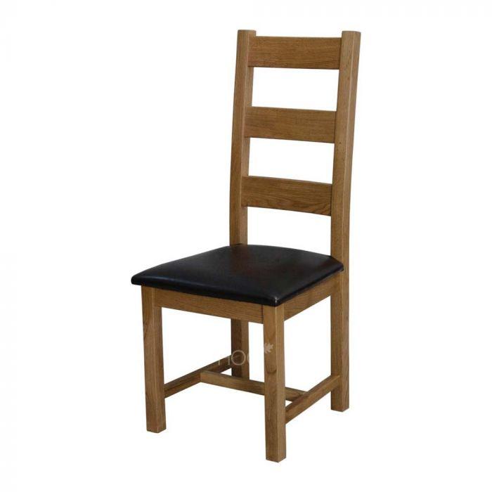 deluxe oak bedroom chair