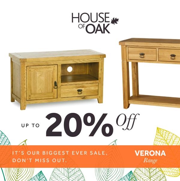 Verona Oak 20% Sale