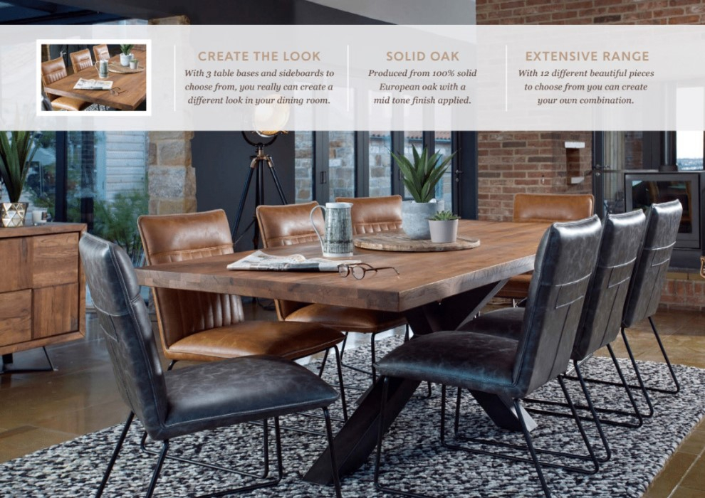 Introducing the SOHO Oak Furniture Range