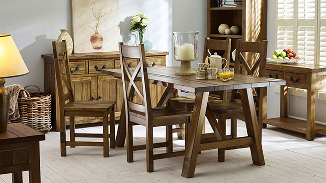 Cotswold Rustic Pine Dining Room Furniture