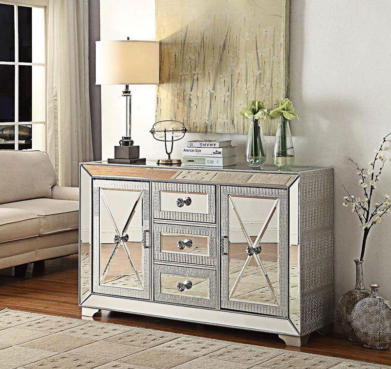 Mayfair Mirrored Living Room Furniture