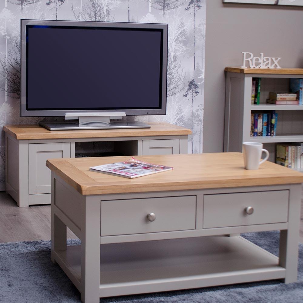 Diamond Grey Living Room Furniture