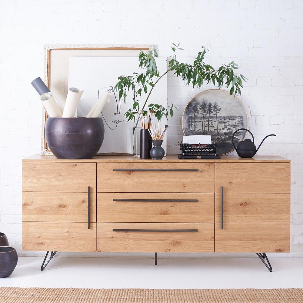 Forged Oak Living Room Furniture