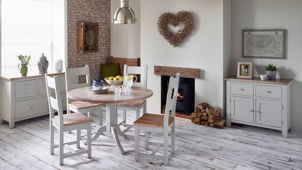 New Hampshire in Chalked Oak & Light Grey Furniture