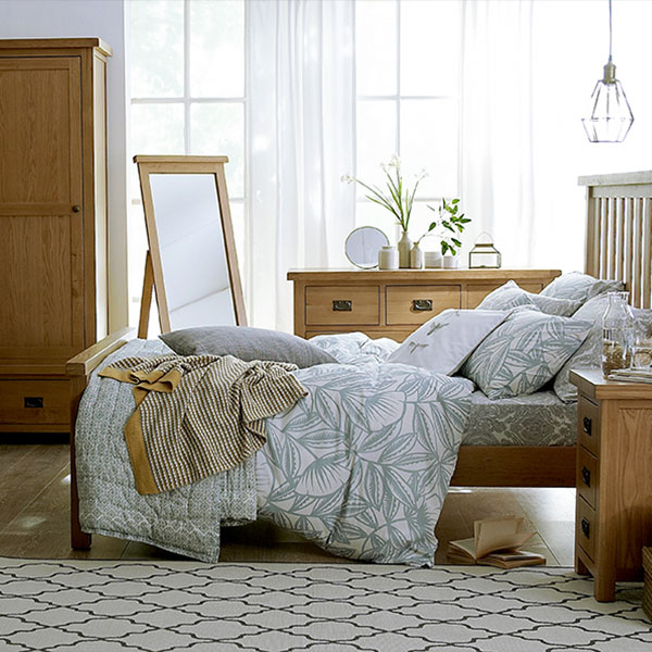 Harewood Oak Bedroom Furniture