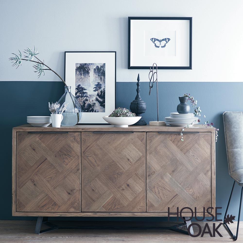 Parquet Oak Dining Room Furniture