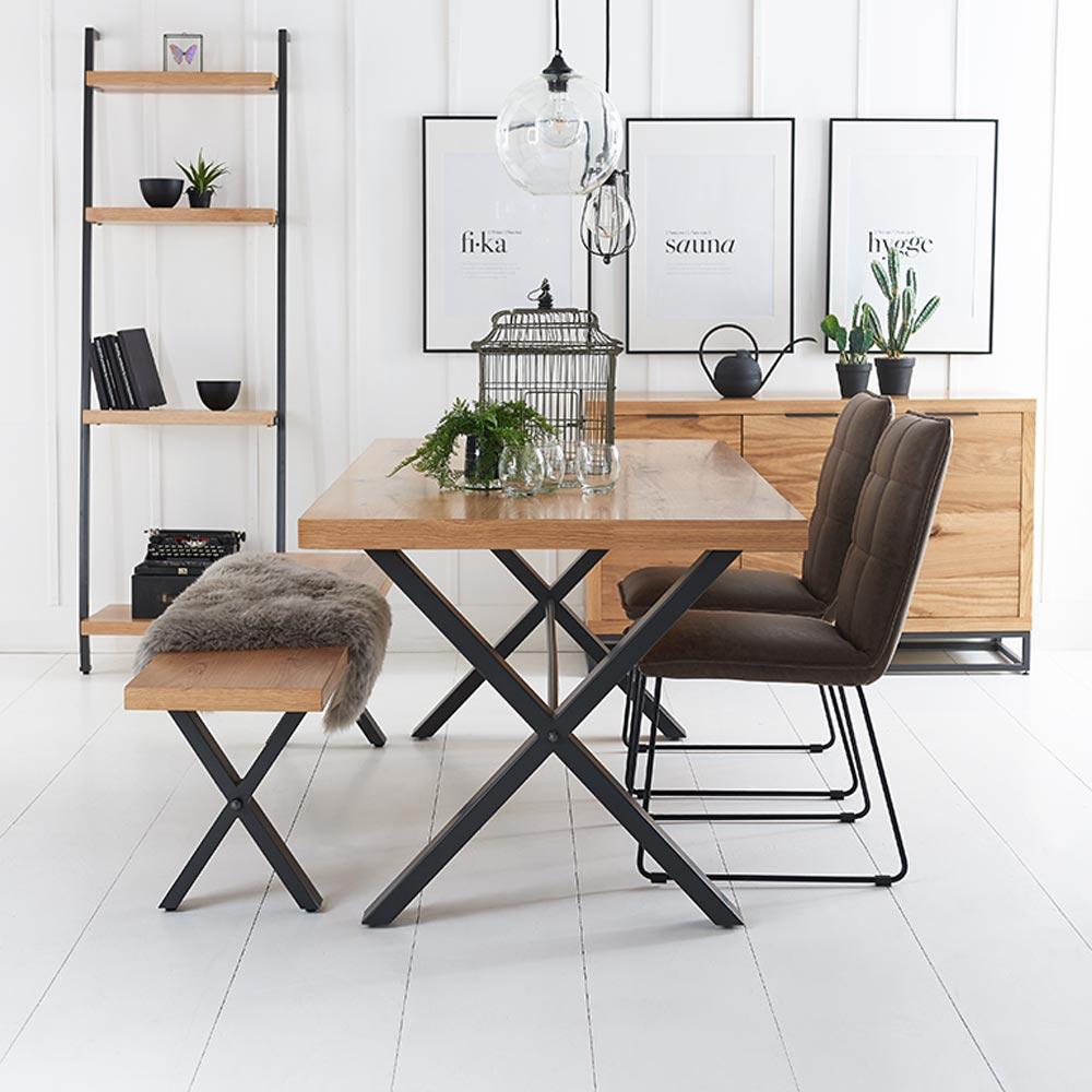 Fusion Oak Living Room Furniture