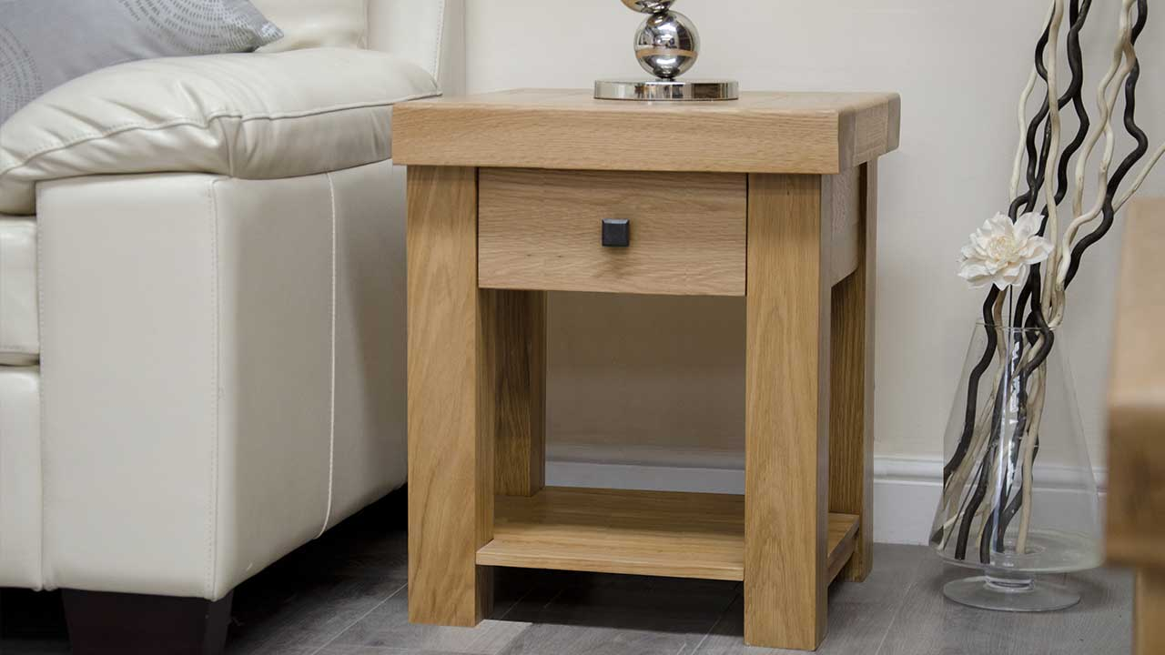 Oak Lamp Tables Living Room Furniture House Of Oak