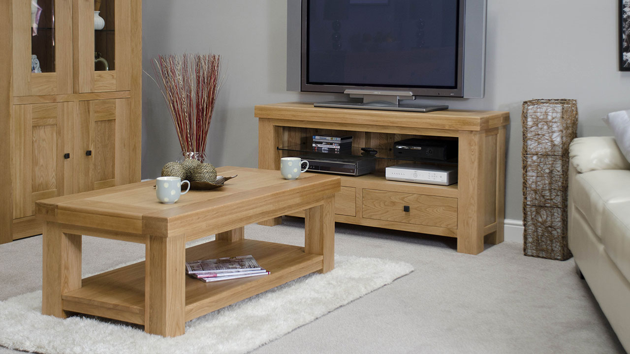 Bordeaux Oak Living Room Furniture