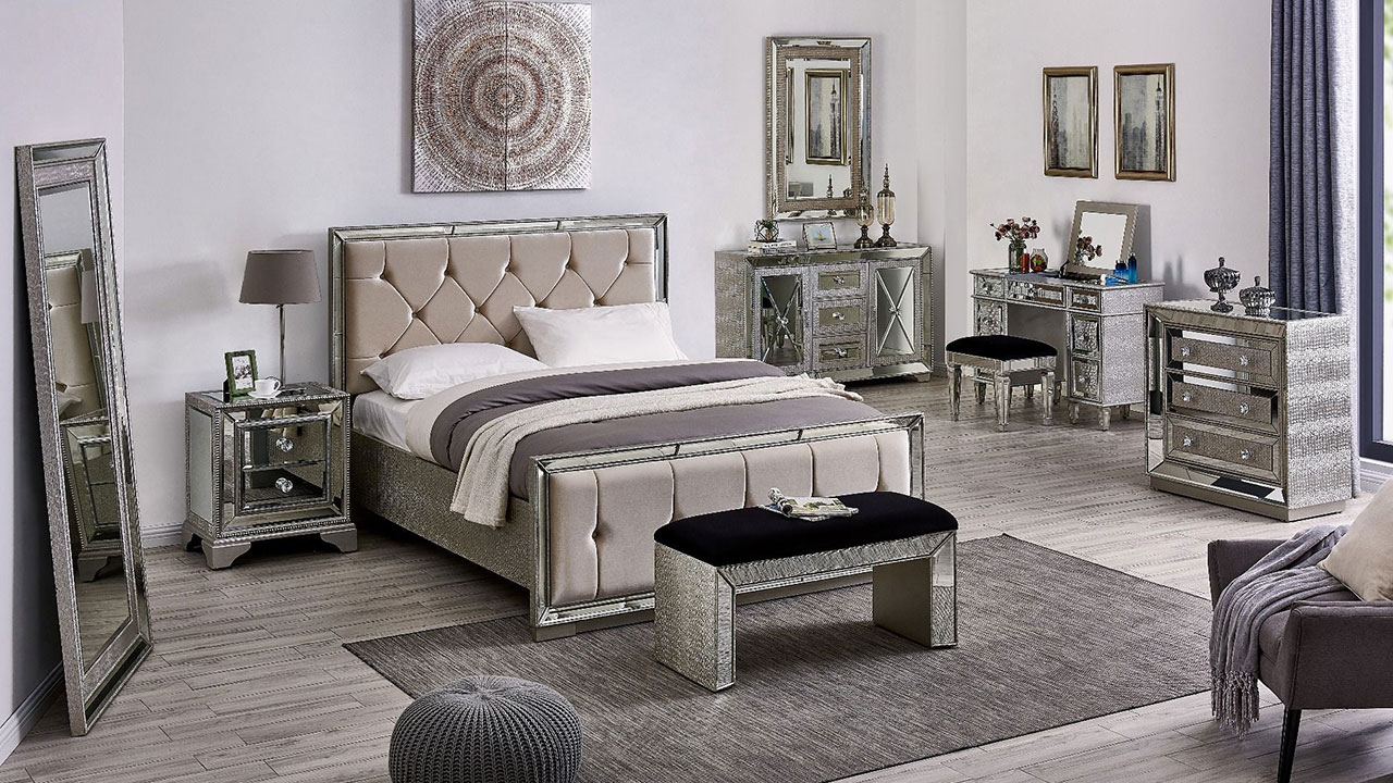 Mayfair Mirrored Bedroom Furniture