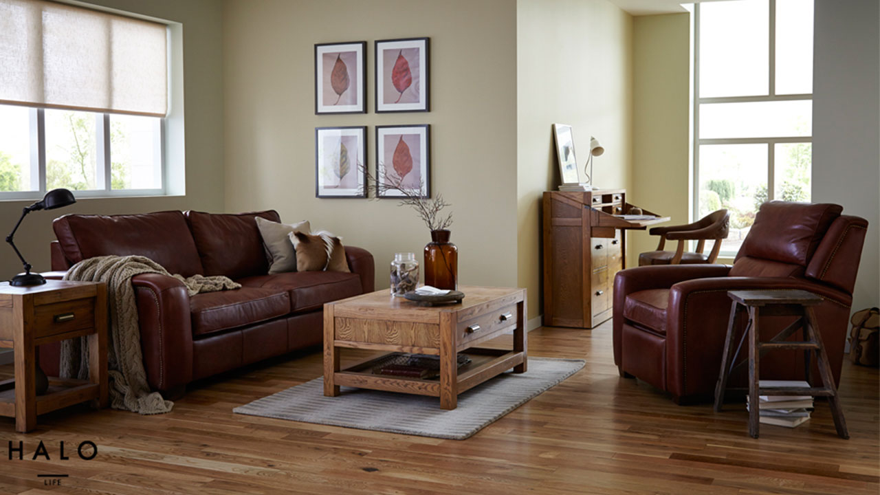 Montana Oak Living Room Furniture