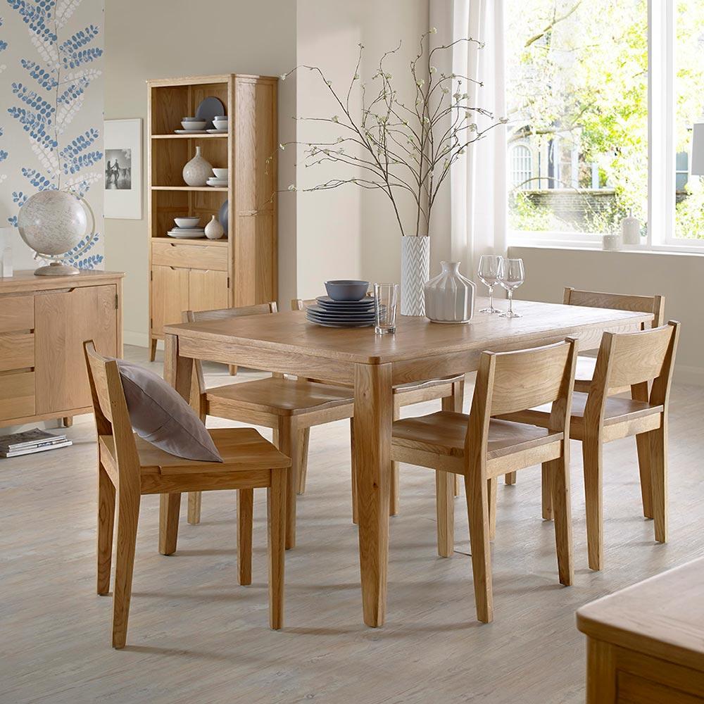 Copenhagen Oak Dining Room Furniture