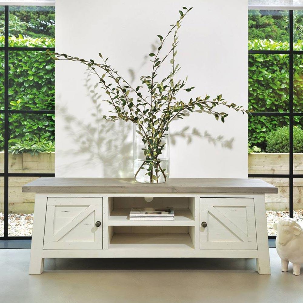 Oxford Reclaimed Pine Range in White Painted - New Range