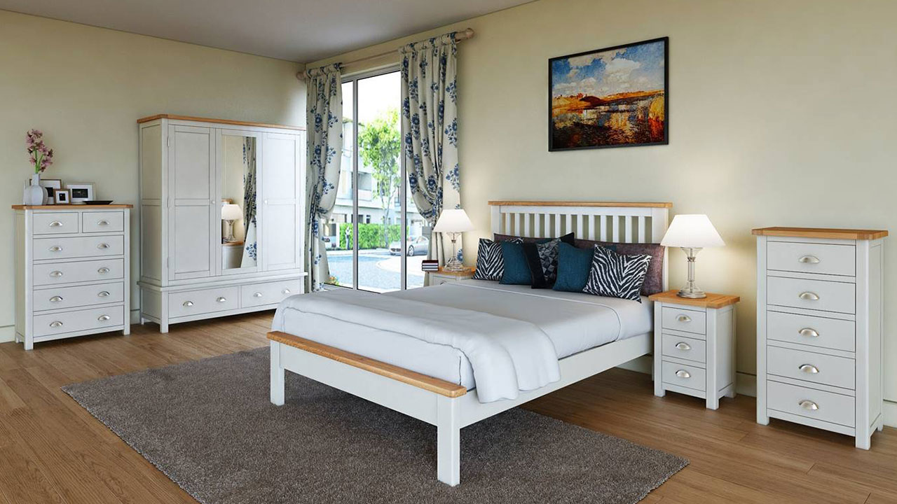 Portman Cream Bedroom Furniture