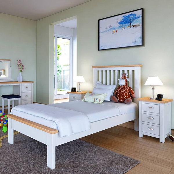 Portman White Bedroom Furniture