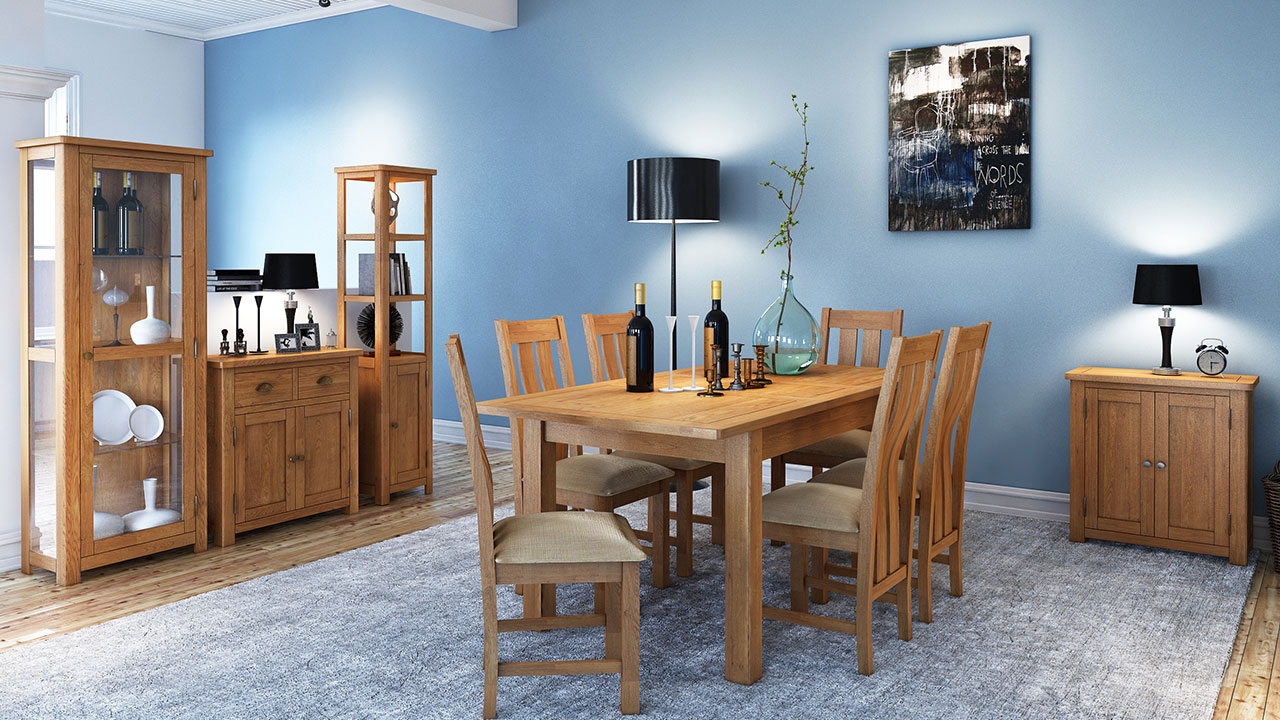 Portman Oak Dining Room Furniture