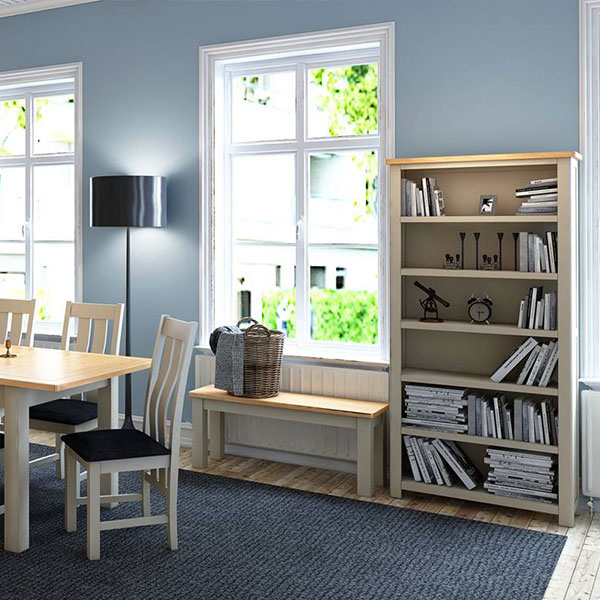 Portman Oak White Living Room Furniture