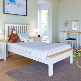 Portman Painted Oak in White Furniture