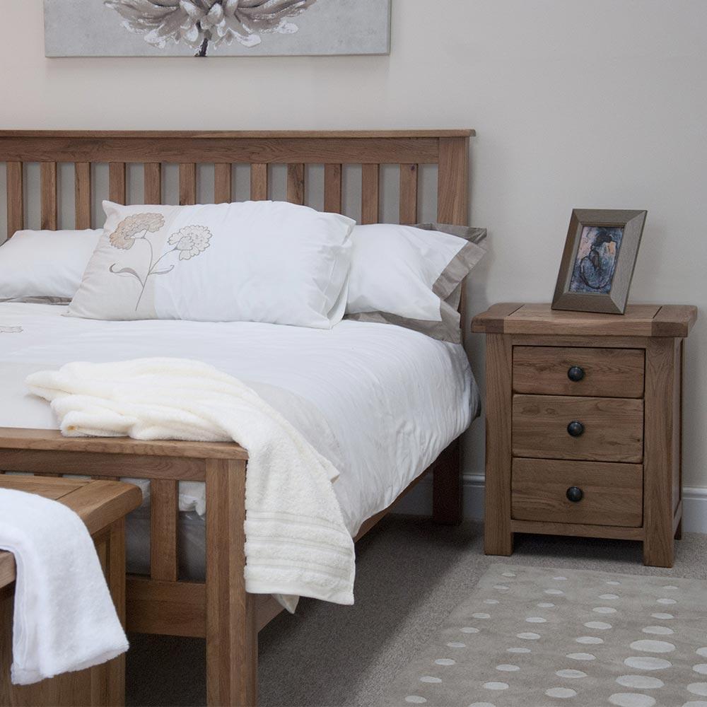 Rustic Solid Oak Bedroom Furniture