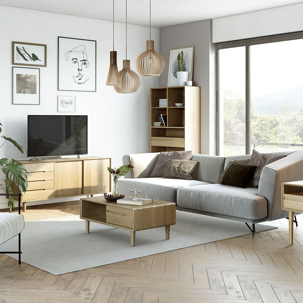 Scandic Oak Furniture - New Range