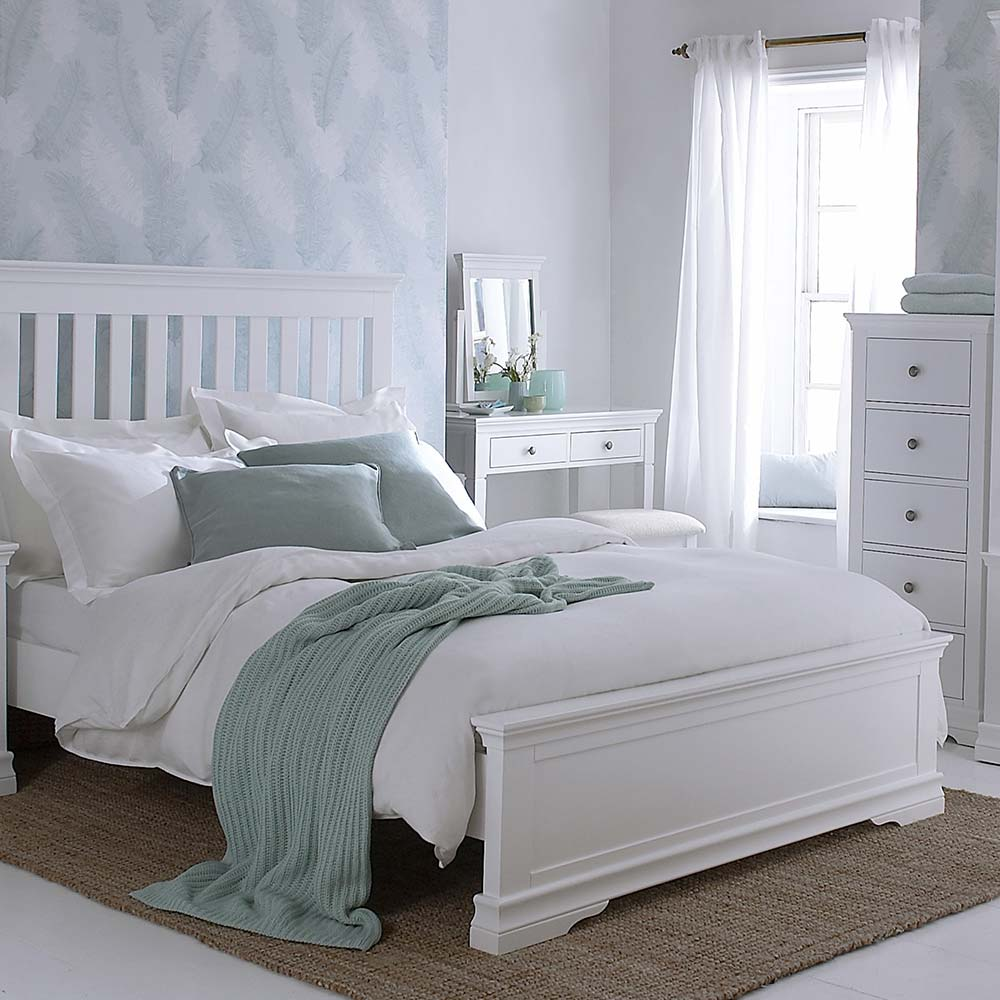 Chantilly White Bedroom Furniture