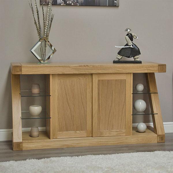 Z Solid Oak Living Room Furniture