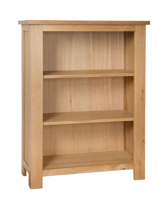 Simply Oak 2 Shelf Bookcase