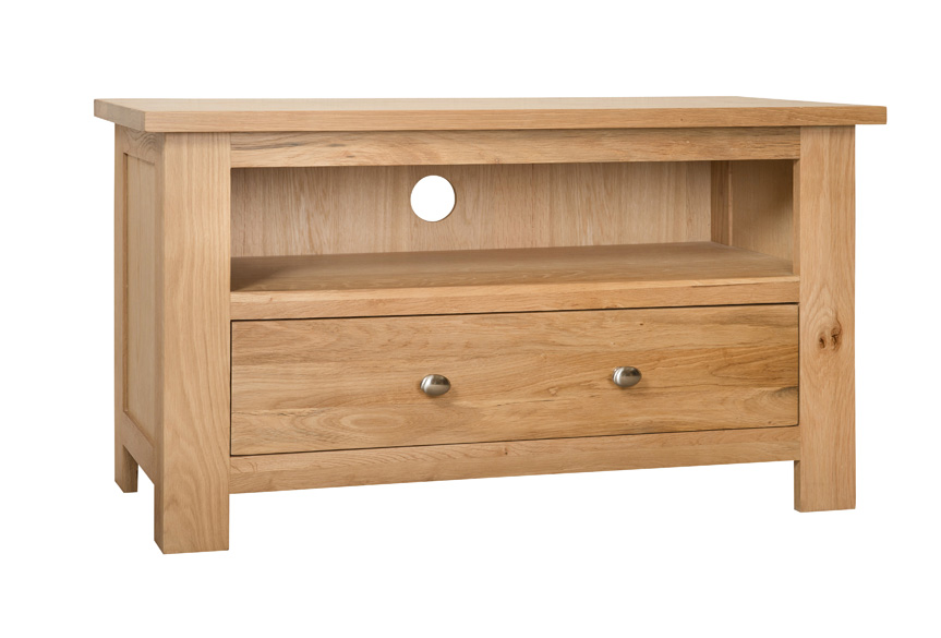 Simply Oak 1 Drawer TV Cabinet