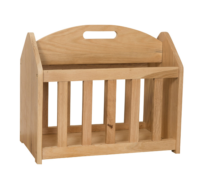 Simply Oak Magazine Rack