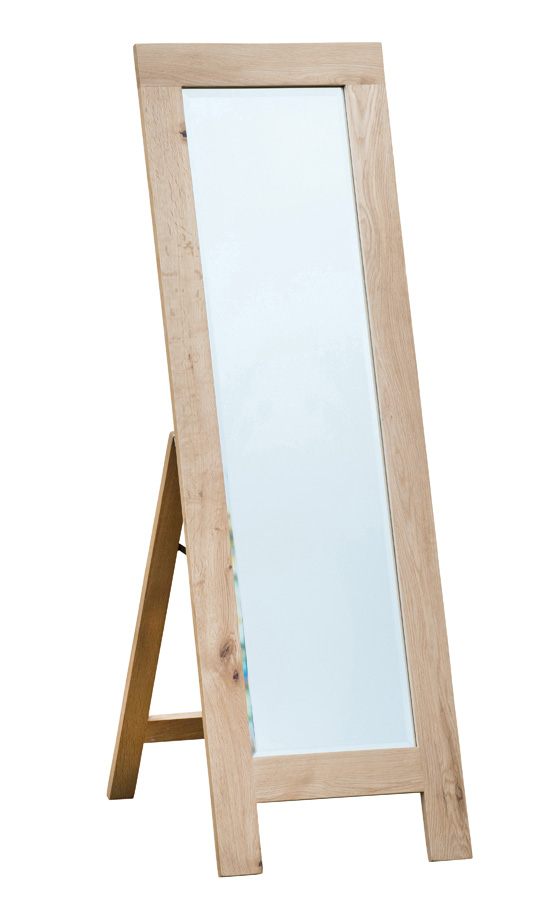 Simply Oak Cheval Mirror