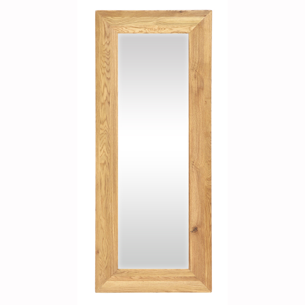 New Hampshire Oak Mirror 70cm Wide