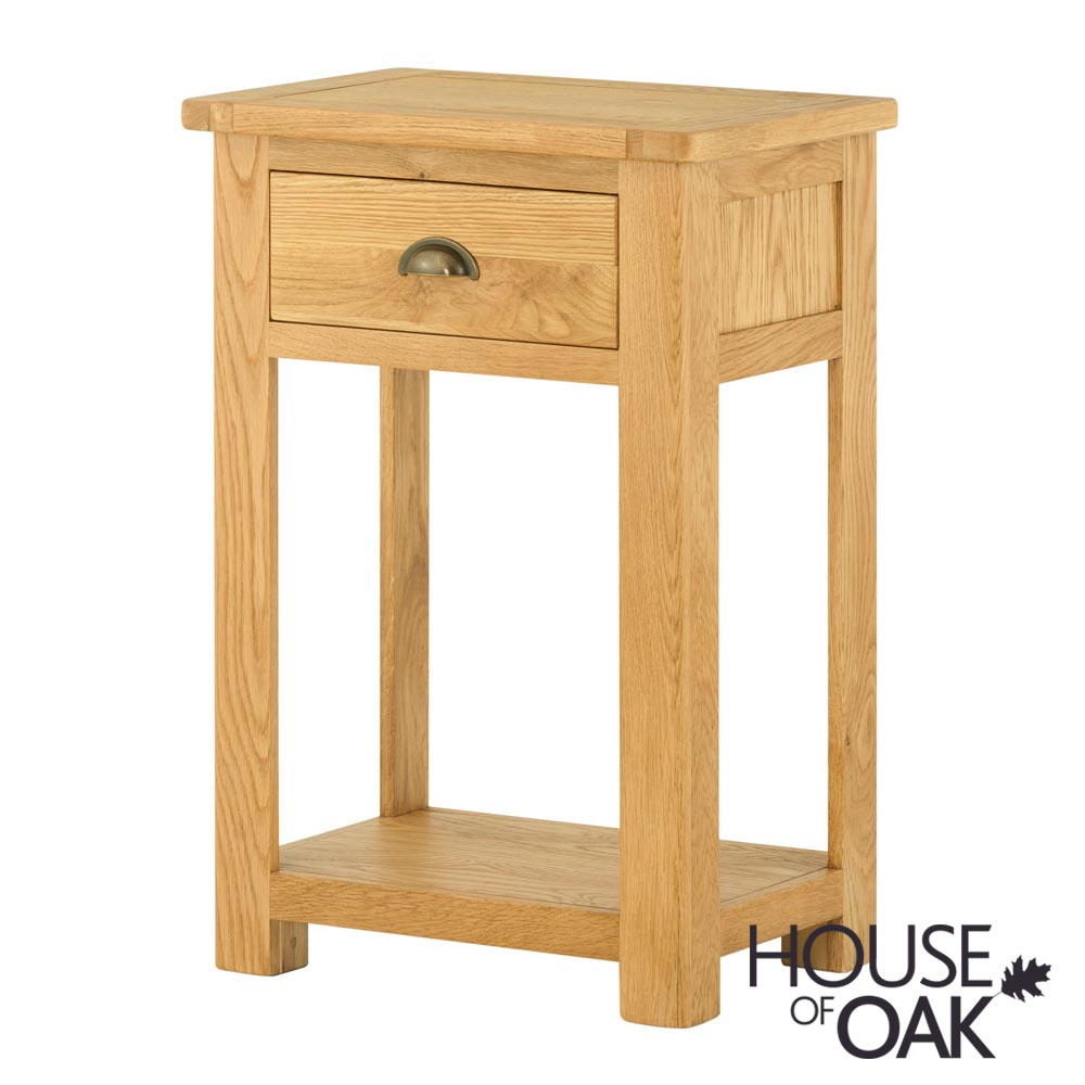 Portman 1 Drawer Console Table in Oak