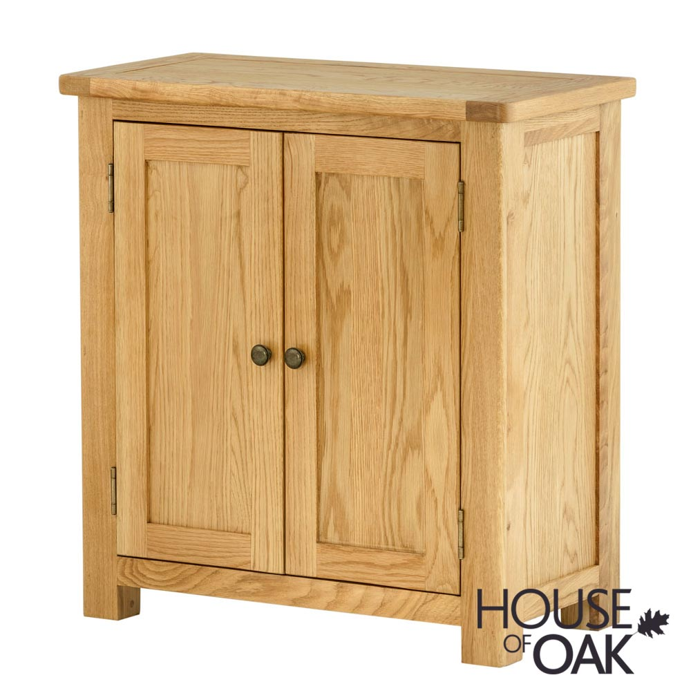 Portman 2 Door Cabinet in Oak