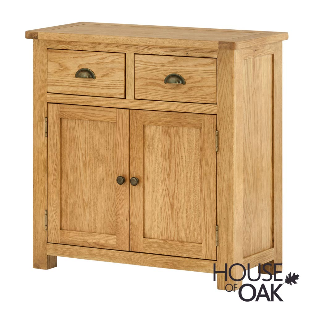 Portman 2 Door 2 Drawer Sideboard in Oak