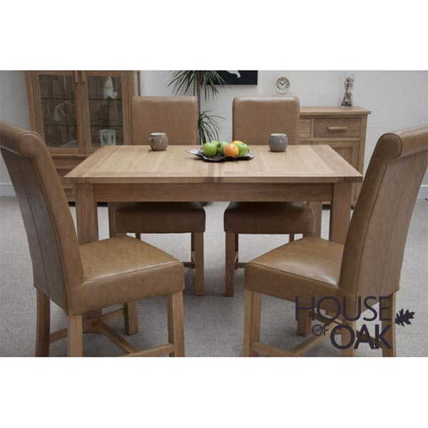 Opus Oak Extending Dining Table