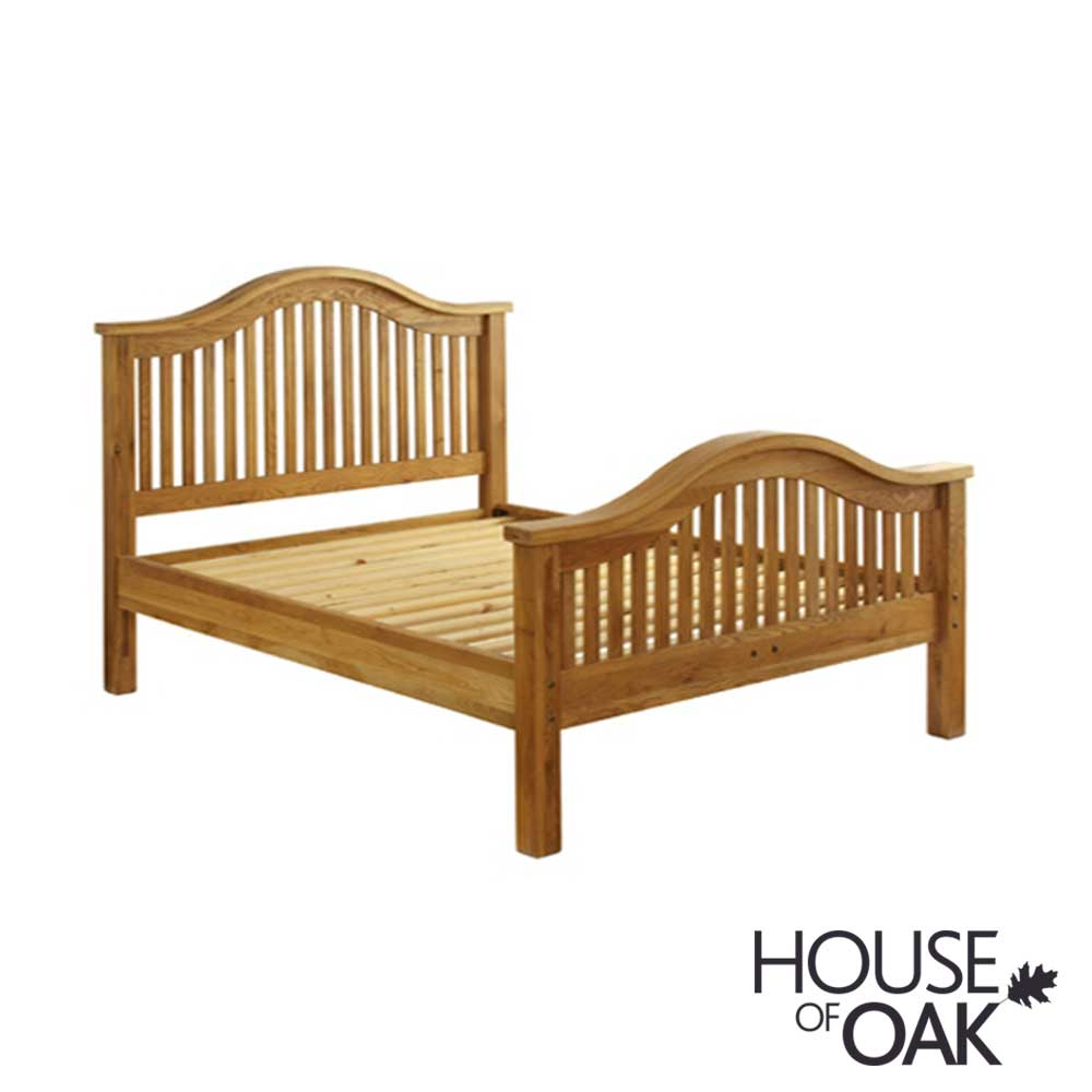 Hampshire Oak 5FT King Size Bed