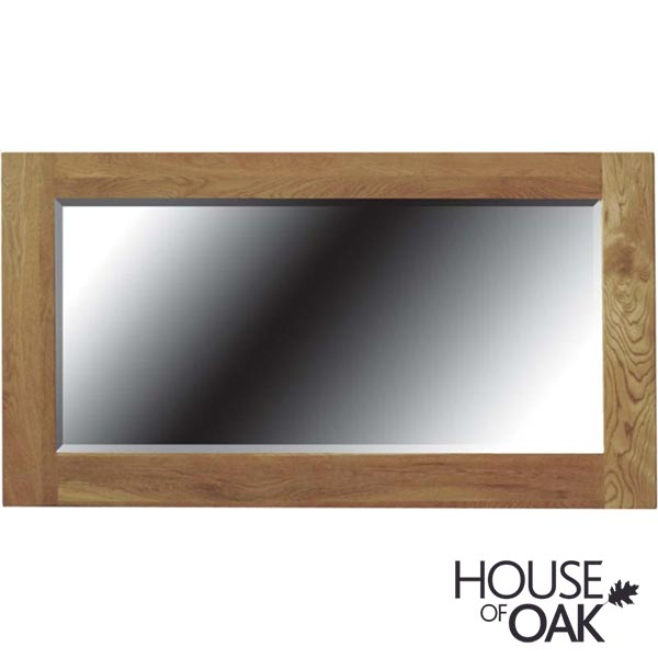 Opus Solid Oak Framed Mirror (large)