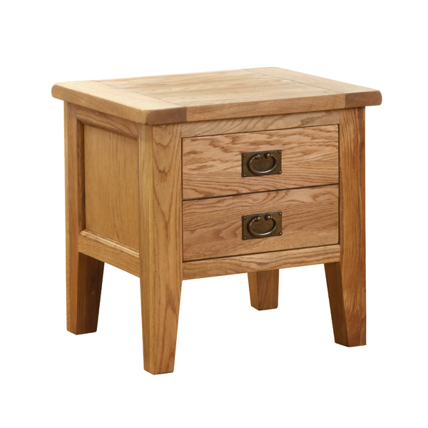 New Hampshire Oak Lamp Table (1 Drawer)