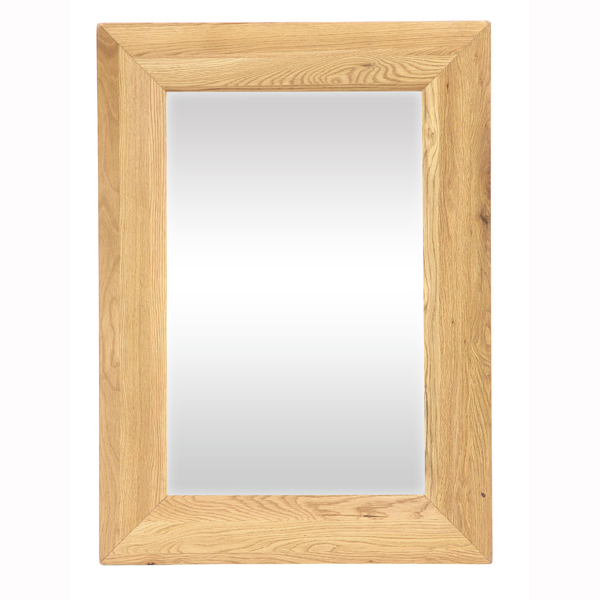New Hampshire Oak Mirror 110cm Wide