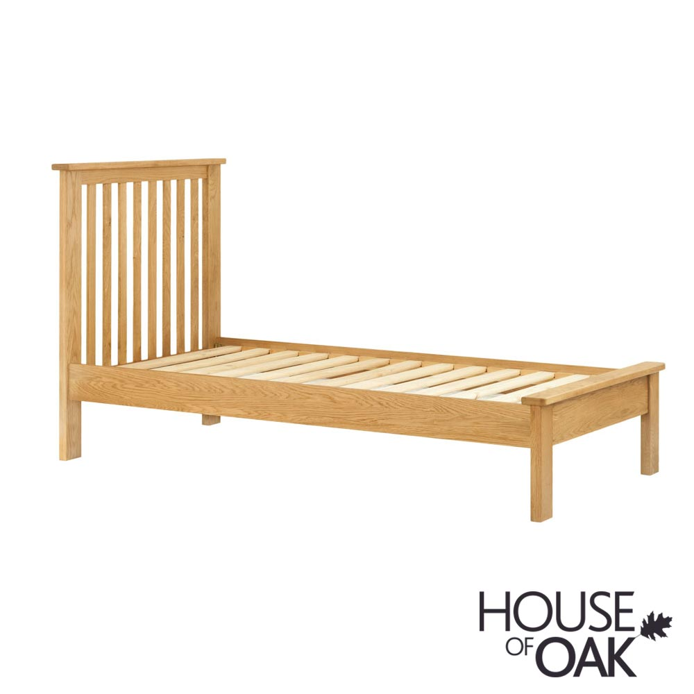 Portman 3ft Single Bed in Oak