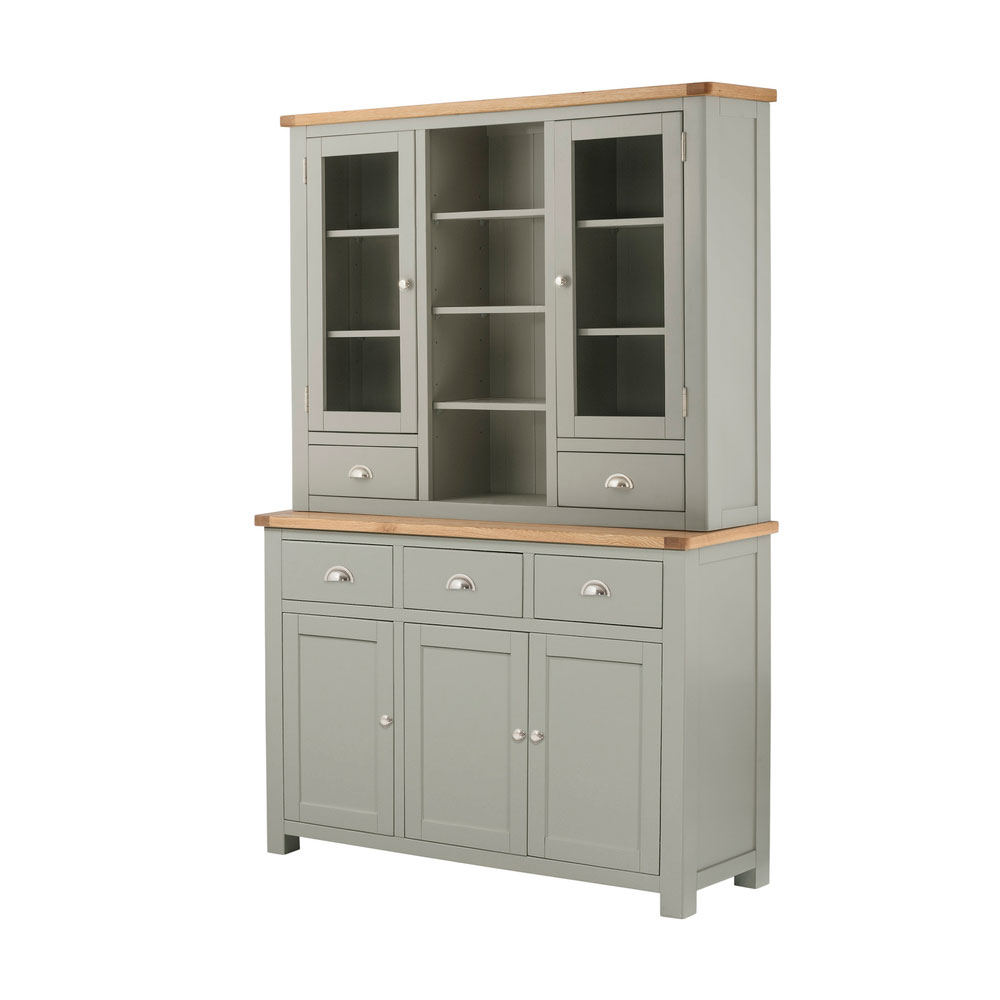 Portman Painted Dresser in Stone Grey