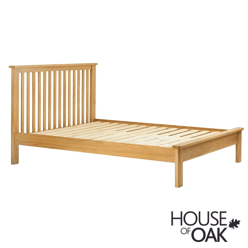 Portman 5FT King Size Bed in Oak