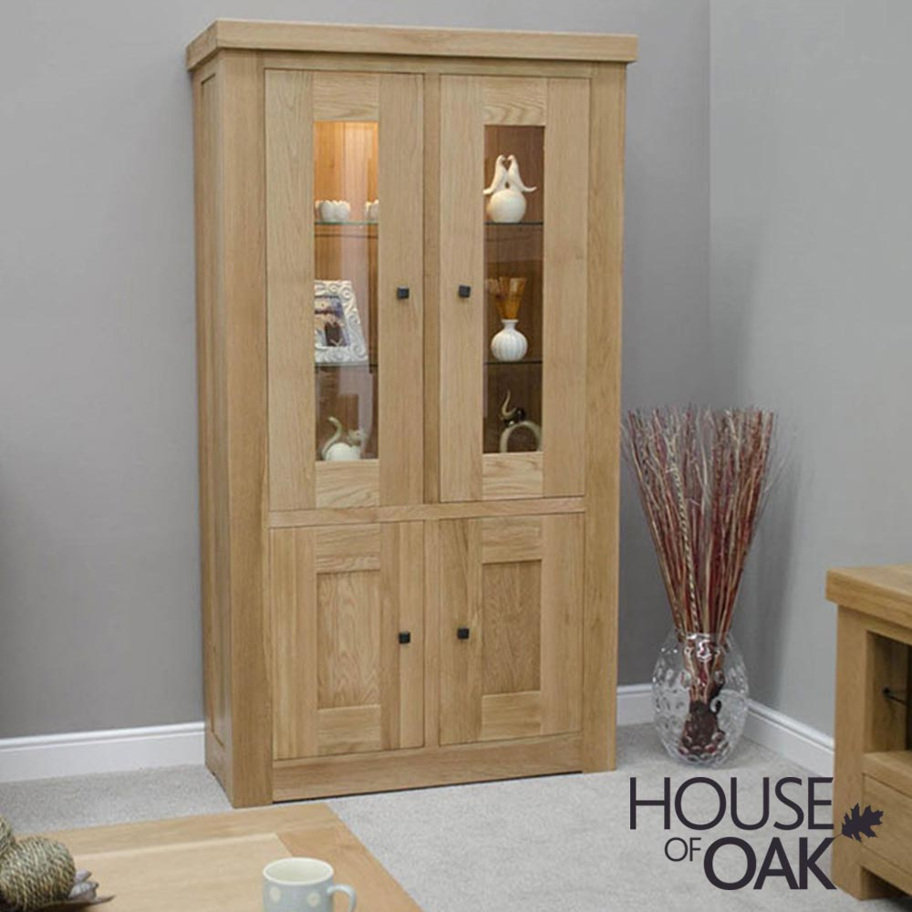 Bordeaux Oak Display Unit