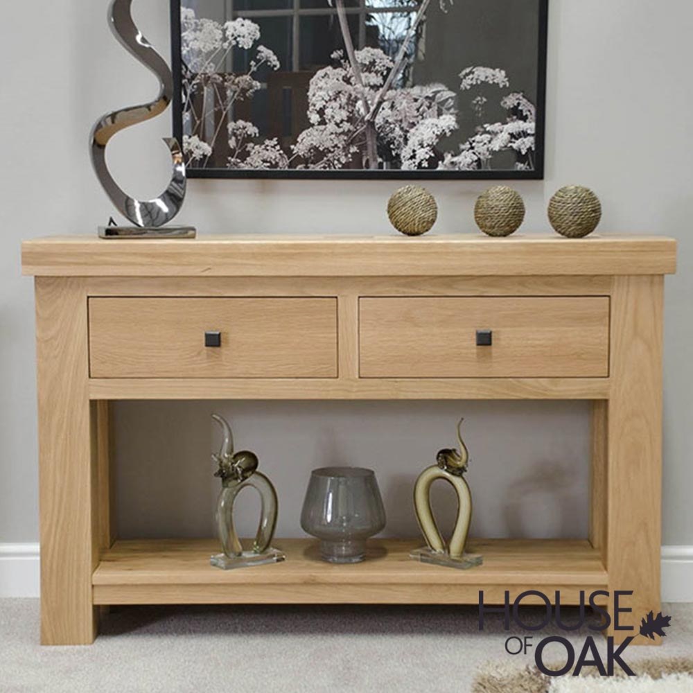 Bordeaux Oak Hall / Console Table