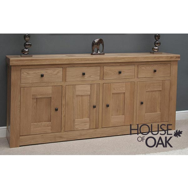 Bordeaux Oak Large Sideboard