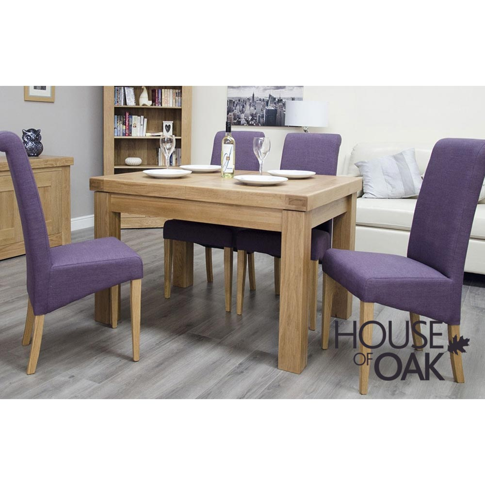 Bordeaux Oak Small Extending Table